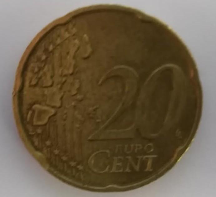 20 Cent Münze Vorderseite Münzen Info