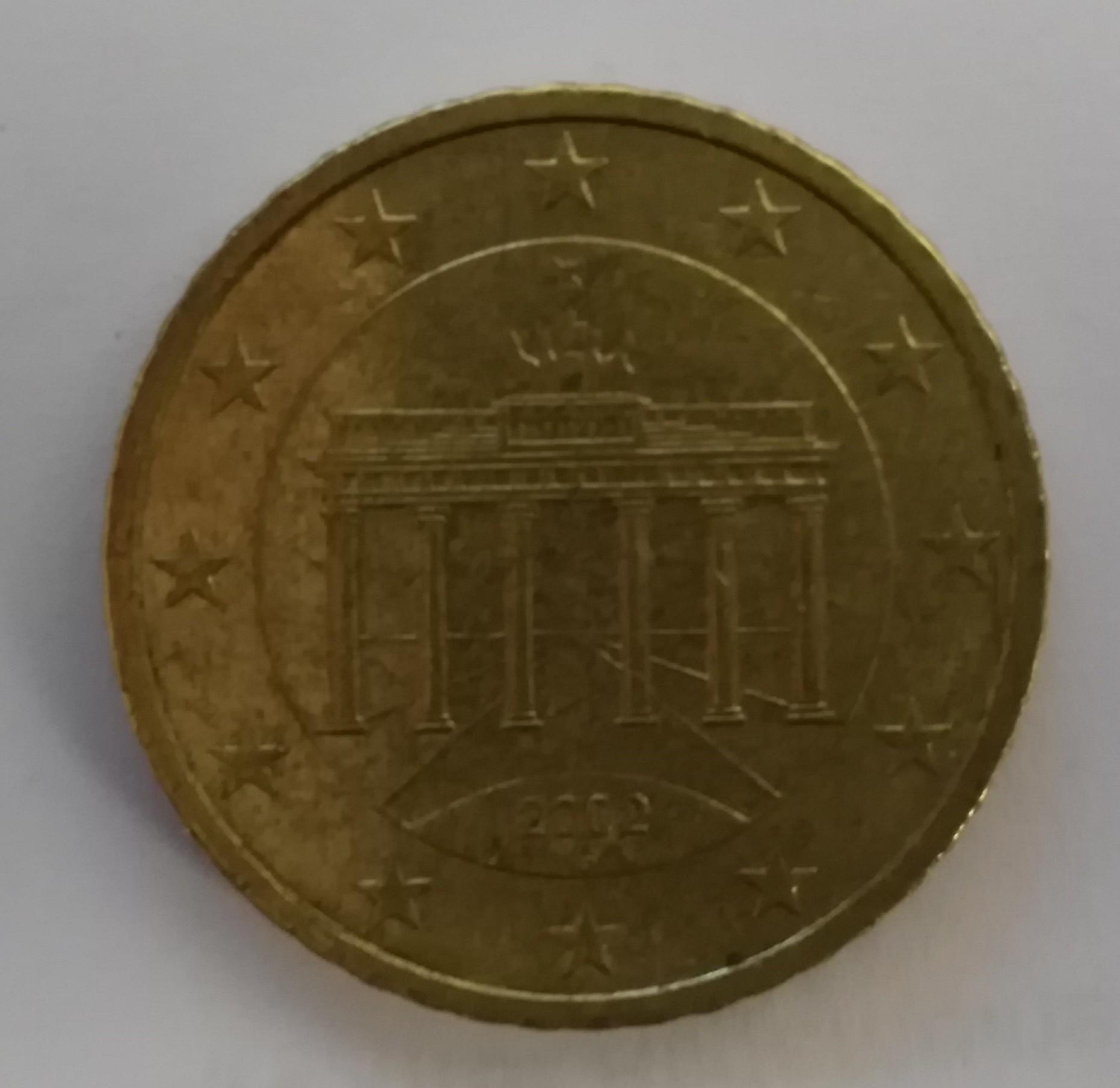 50 Cent Münze Rückseite Münzen Info